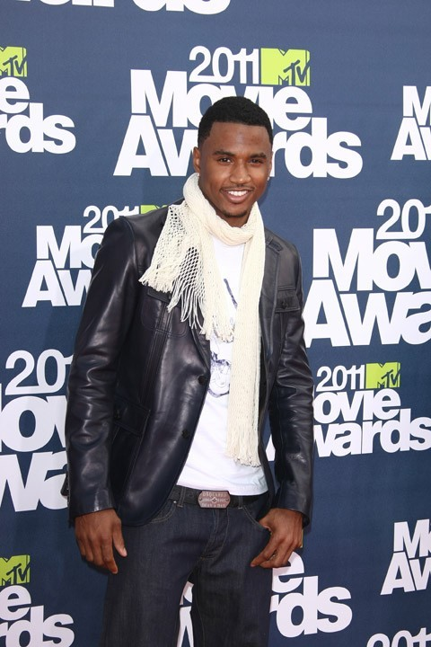 Trey Songz lors des MTV Movie Awards 2011, le 5 juin 2011 à Universal City.