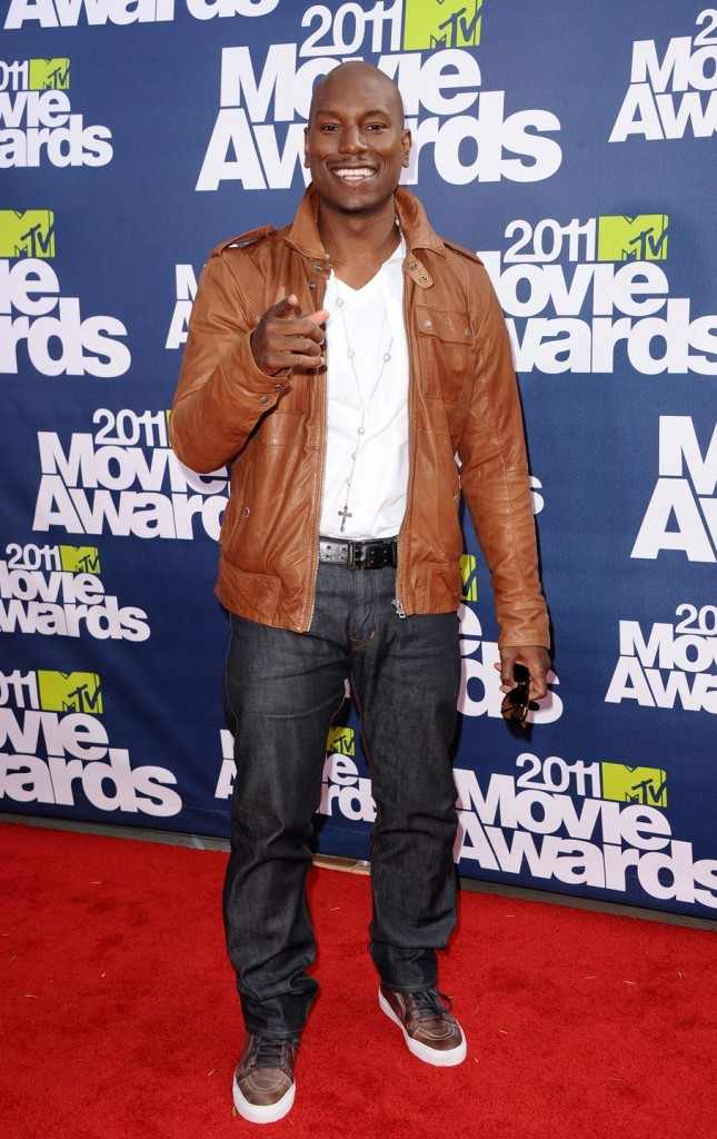 Tyrese Gibson lors des MTV Movie Awards 2011, le 5 juin 2011 à Universal City.