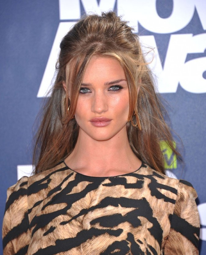 Le top model Rosie Huntington-Whiteley...