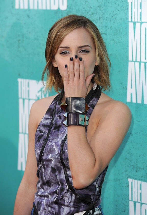 Emma Watson aux MTV Movie Awards 2012