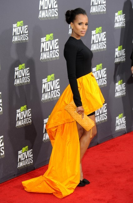 Kerry Washington lors des MTV Movie Awards 2013 à Los Angeles, le 14 avril 2013.