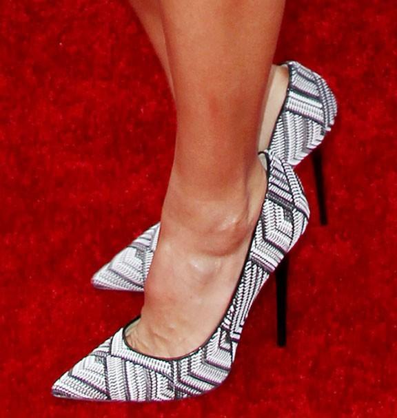 Jessica Alba à la cérémonie des MTV Movie Awards organisée à Los Angeles le 13 avril 2014