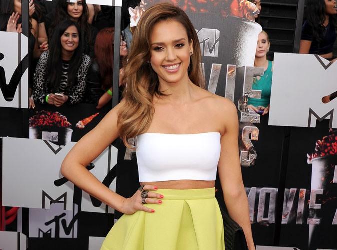 MTV Movie Awards 2014 : Jessica Alba : une vraie petite bombe sophistiquée !