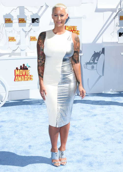 Amber Rose aux MTV Video Music Awards le 12 avril 2015