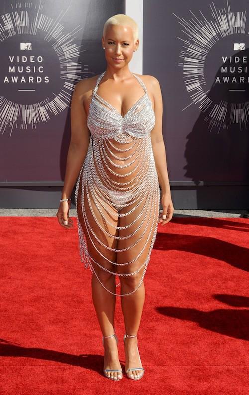 Amber Rose sexy lors des MTV VMA 2014