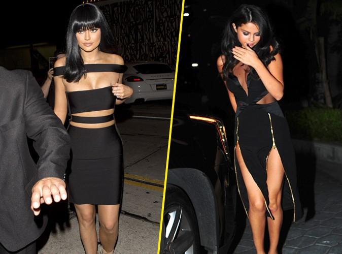 Kylie Jenner et Selena Gomez le 30 août 2015
