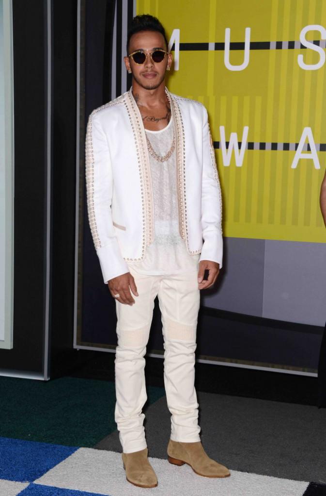 MTV VMA 2015 : Lewis Hamilton : Sur le point d'emmener sa belle Rihanna en Italie ?