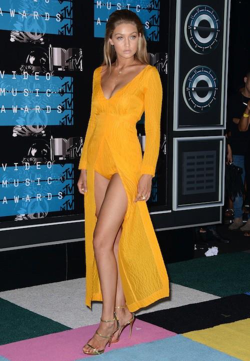 Gigi Hadid aux MTV VMA 2015, le 30 août 2015