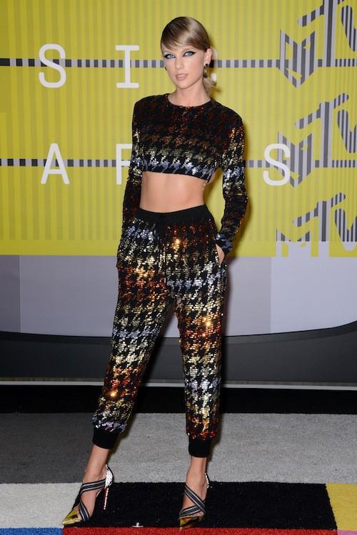 Taylor Swift, aux MTV VMA 2015, le 30 août 2015