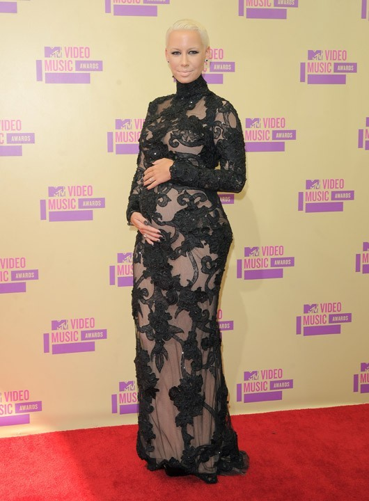 Amber Rose aux MTV Video Music Awards le 6 septembre 2012
