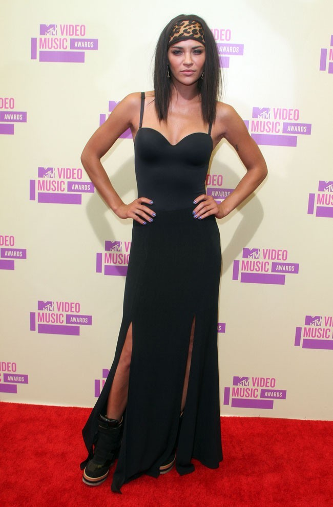 Jessica Szohr MTV VMA's 2012 le 6 septembre 2012 à Los Angeles
