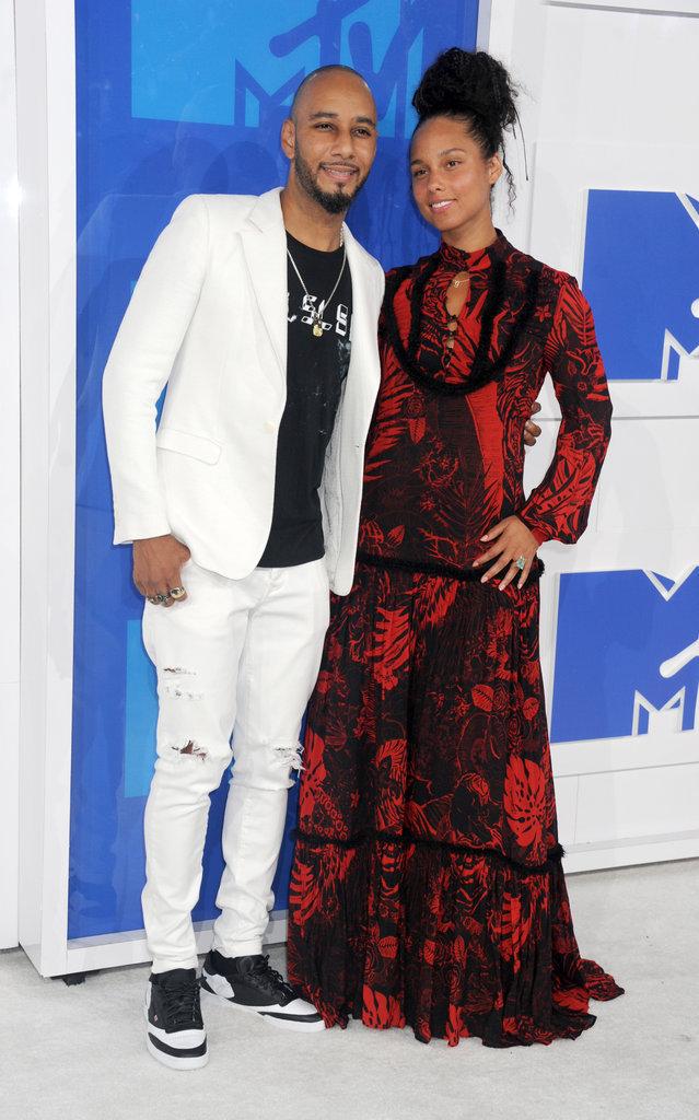 Photos : MTV VMA's 2016 : Alicia Keys toujours au naturel et toujours aussi in love !