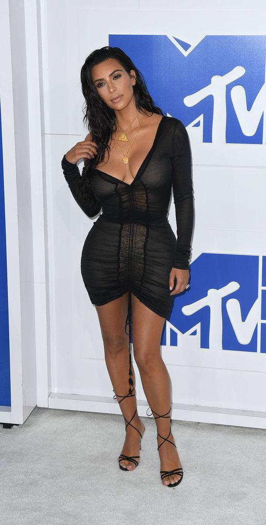 Photos : MTV VMA's 2016 : Kim Kardashian : une tenue et un discours... très spéciaux !