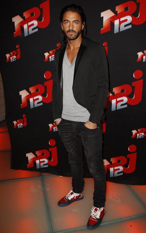 """Thomas Vergara lors de la conférence de presse de sa télé-réalité """"Allo Nabilla"""" à Paris, le 21 octobre 2013."""