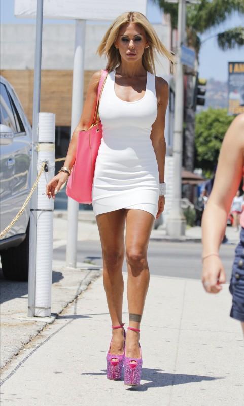 Shuana Sand à Beverly Hills, le 29 juillet 2013.
