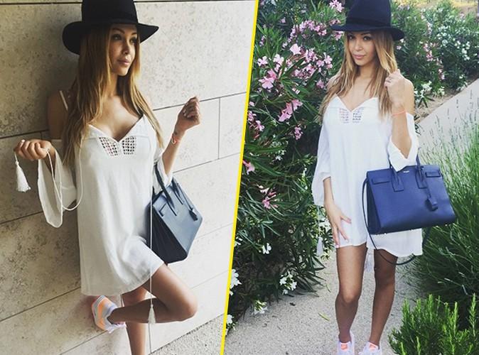 Photos : Nabilla : petite robe et joli décolleté, la starlette est prête pour l'été !