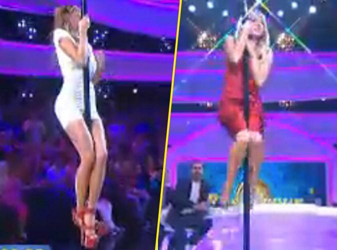 Photos : Nabilla vs Enora Malagré : concours de pole dance dans L'œuf ou la poule !