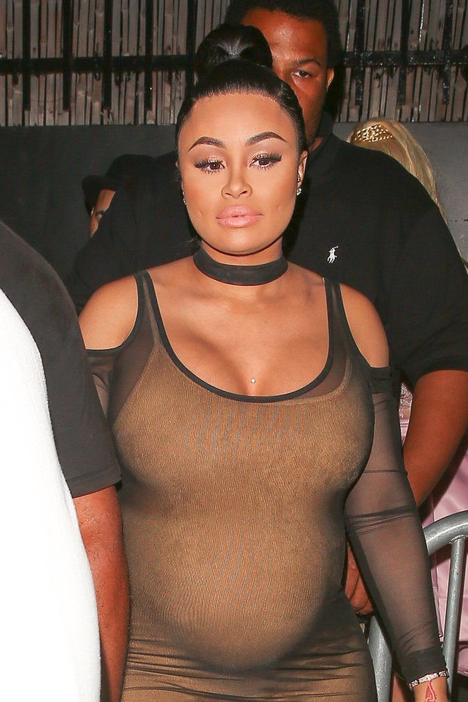 Accouchement imminent : Blac Chyna