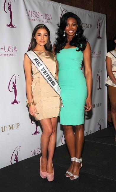 Nana Meriwether et Olivia Culpo le 9 janvier 2013 à New York