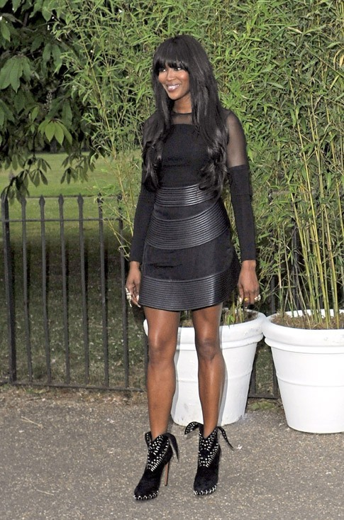 Naomi Campbell à la Serpentine Gallery Summer Party organisée à Londres le 26 juin 2013