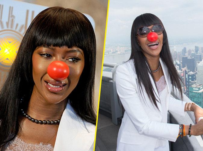 Naomi Campbell : elle change de carrière pour devenir... Clown !