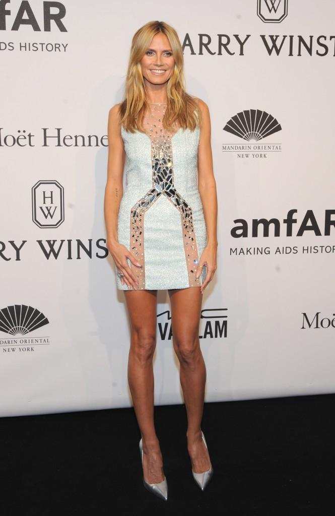 Photos : Naomi Campbell, Heidi Klum, Iman Bowie : quand les top models s'emparent de l'amfAr !