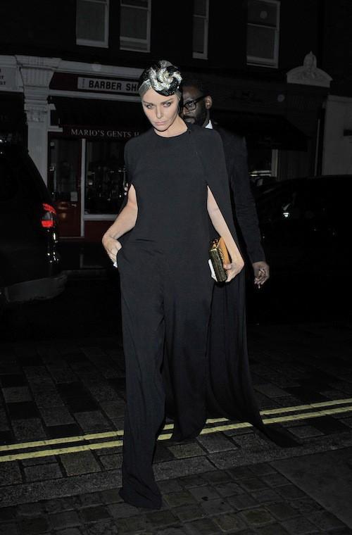 Stella McCartney à l'anniversaire de Mario Testino à Londres, le 29 octobre 2014