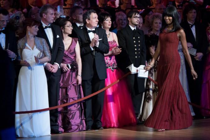 Photos : Naomi Campbell : la Panthère Noire incendiaire au Semper Opera Ball Gala !