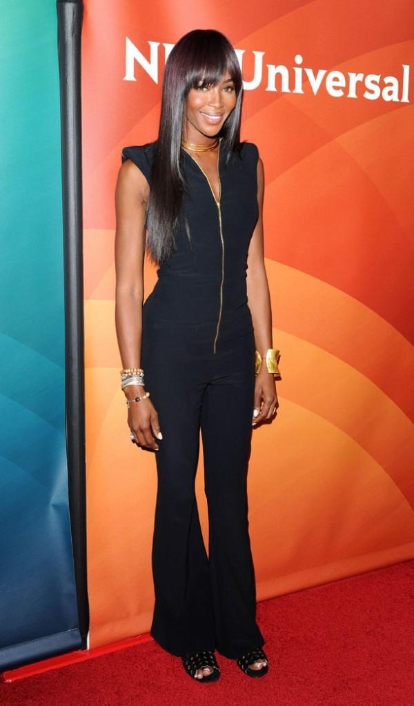 Naomi Campbell à la présentation de The Face au Television Critics Association de Pasadena le 7 janvier 2013