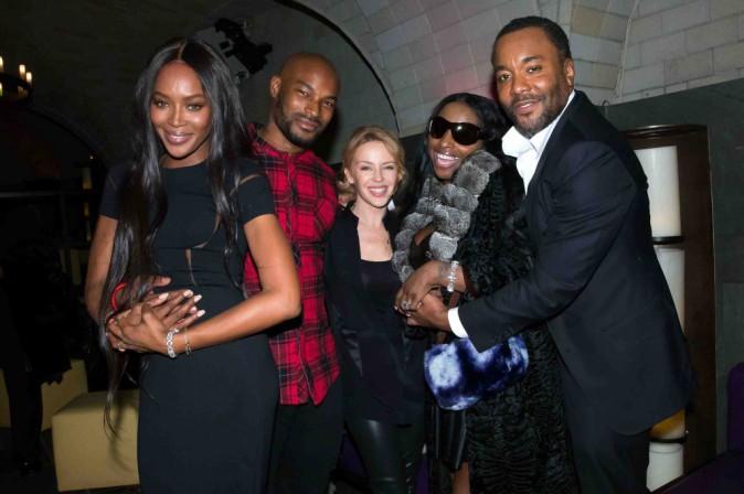 """Naomi Campbell : très entourée pour la soirée de lancement de la série """"Empire"""" !"""
