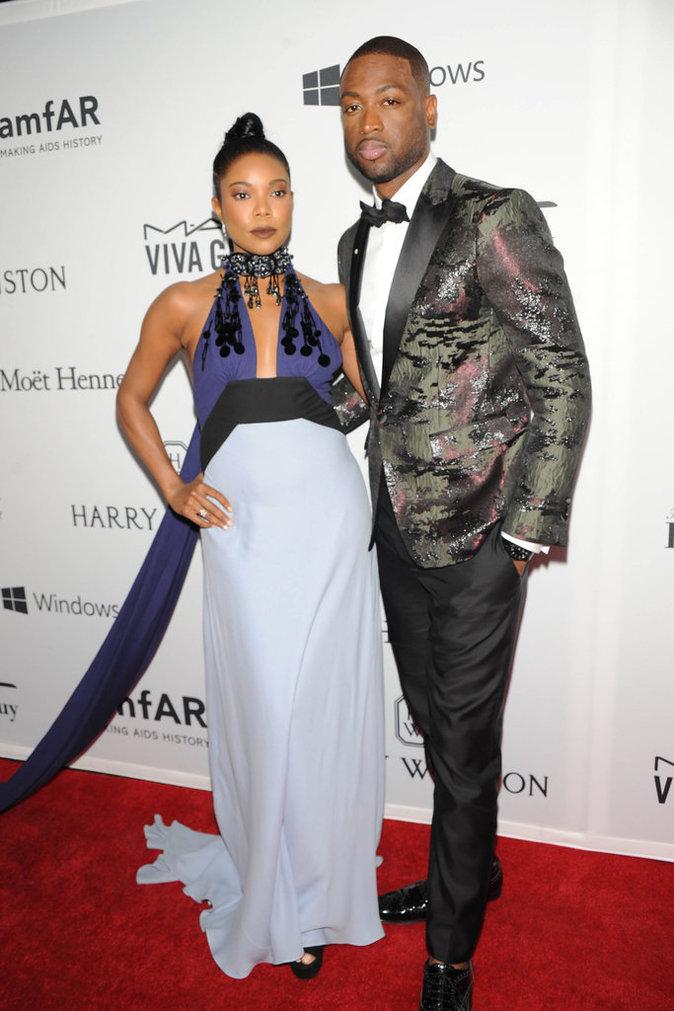 Gabrielle Union au gala de l'amfAR