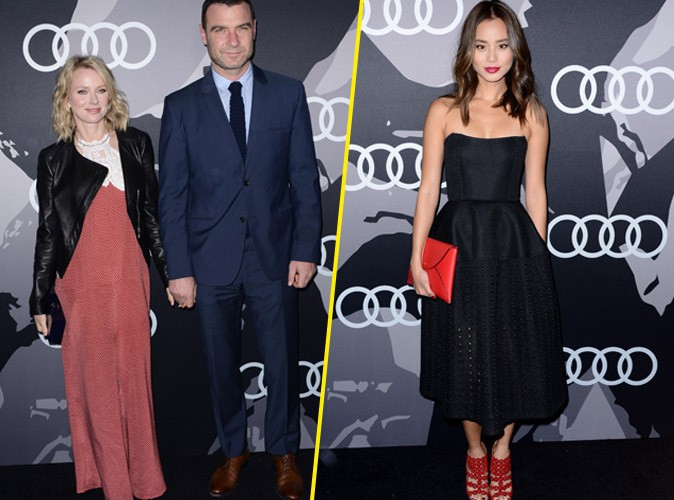 Naomi Watts et Jamie Chung le 8 janvier 2015