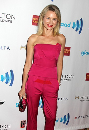 Naomi Watts à New York le 3 mai 2014