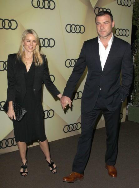 Naomi Watts et Liev Schreiber le 6 janvier 2013 à Los Angeles