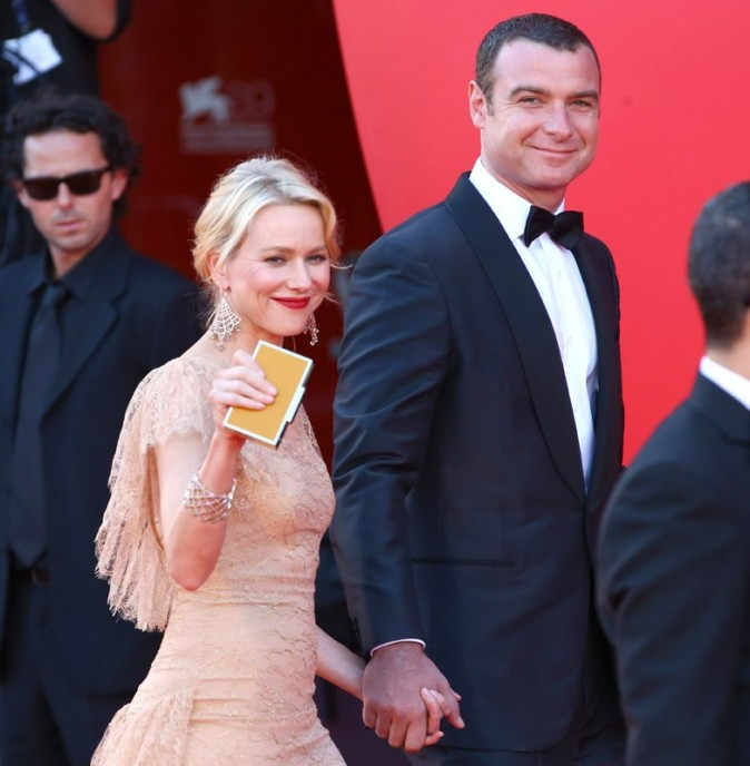 L'actrice est venue soutenir son conjoint