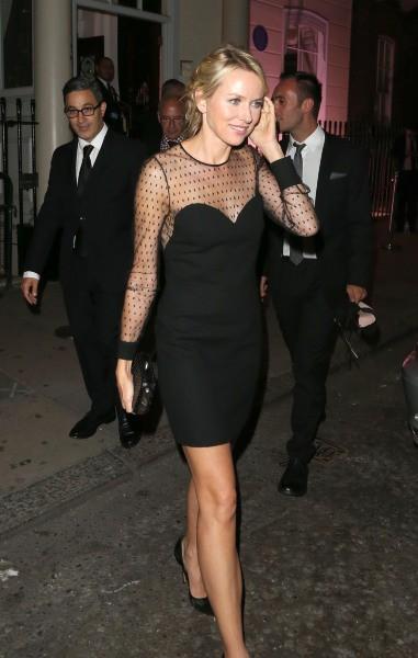 Naomi Watts à Londres, le 5 septembre 2013.