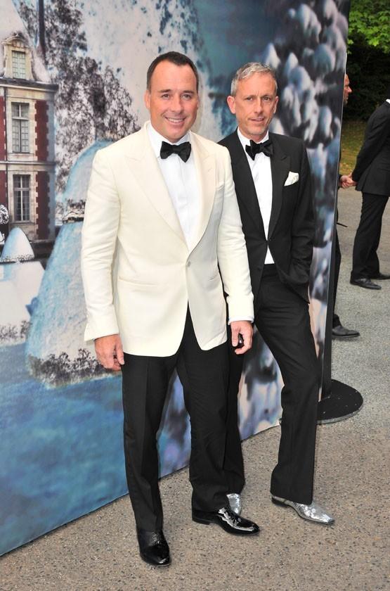 David Furnish lors de la soirée White Fairy Tale Love Ball à Paris, le 6 juillet 2011.