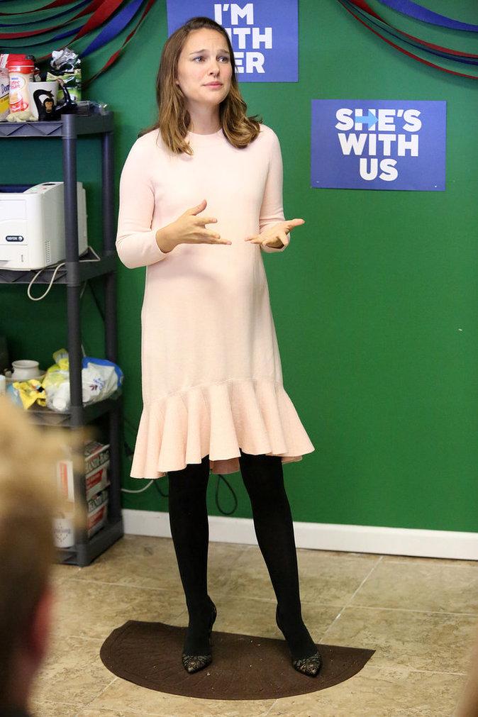 Natalie Portman, lundi 10 octobre à Philadelphie