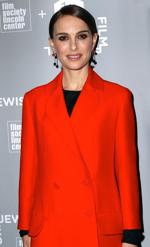 Natalie Portman était présente au New York Jewish Film Festival