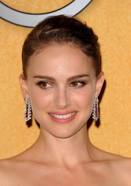 Natalie Portman lors des Screen Actors Guild Awards à Los Angeles, le 29 janvier 2012.