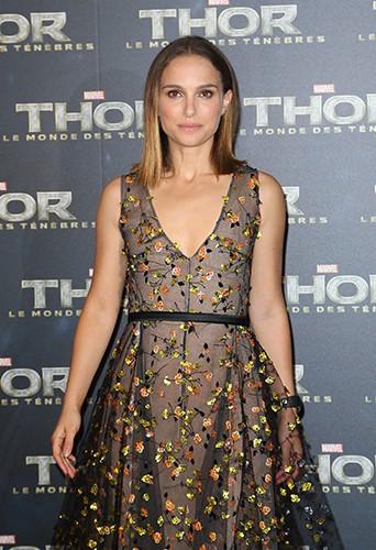Natalie Portman à Paris le 23 octobre 2013