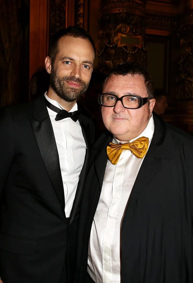 Benjamin Millepied et Vincent Elbaz à Paris le 24 septembre 2015