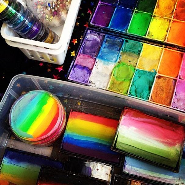 De belles couleurs pour un beau maquillage