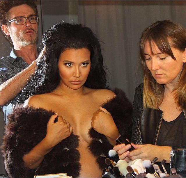 Naya Rivera : C'est à son tour de poser enceinte et nue !
