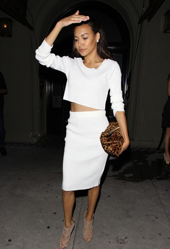 Naya Rivera à Los Angeles le 29 mai 2014