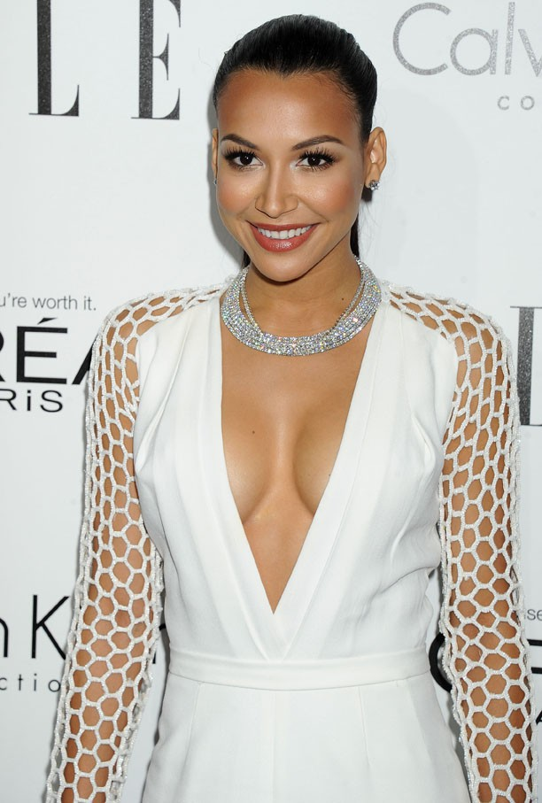 Naya Rivera sur à la soirée Elle's 20th Annual Women in Hollywood Celebration organisée à Beverly Hills le 21 octobre 2013