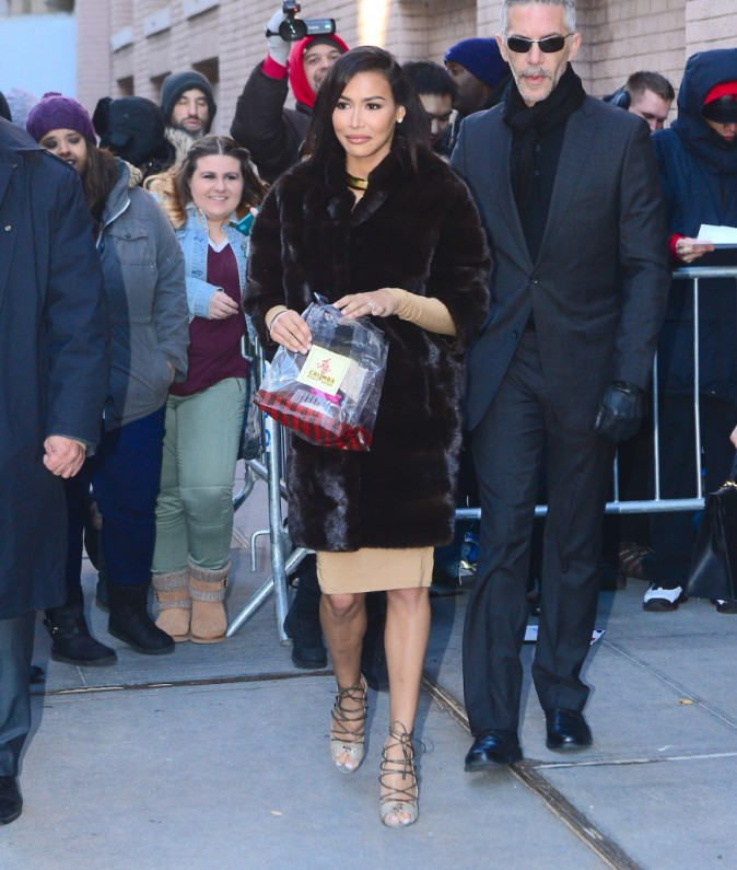 Naya Rivera le 13 janvier 2015