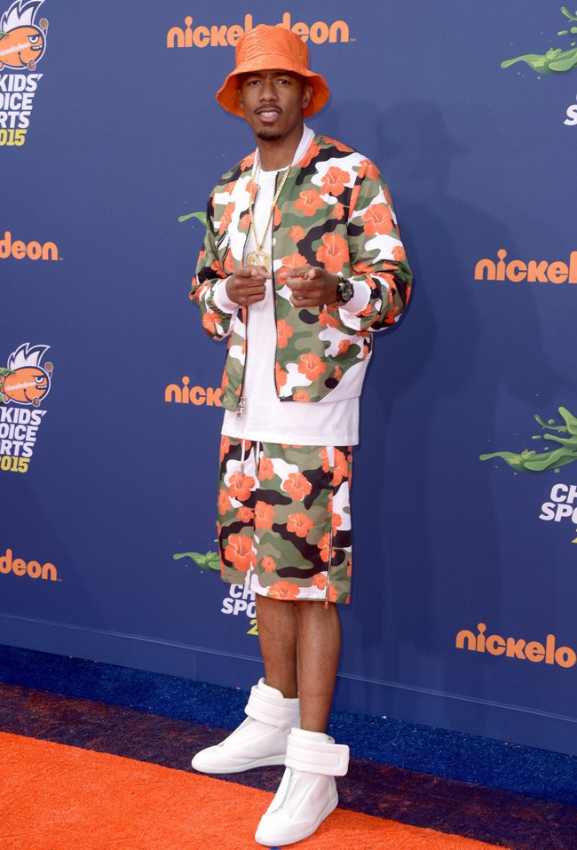 Nick Cannon aux Nickelodeon Kids' Choice Sports Awards le 16 juillet 2015