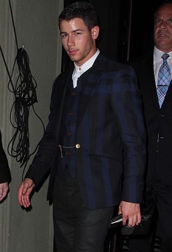 Nick Jonas à Los Angeles le 24 août 2014