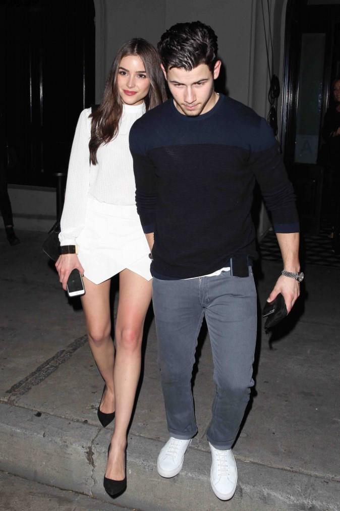 Nick Jonas et Olivia Culpo : rien de tel qu'un petit dîner en amoureux !